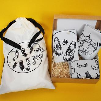 Подарочный набор для девушки Киев, мешочки для одежды Киев, корпоративные подарки на 8 марта Киев