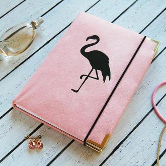 Женский блокнот «Фламинго»