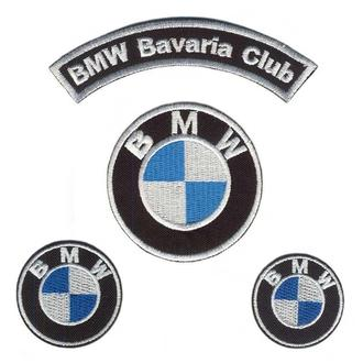 BMW нашивки на куртку набор (74204)