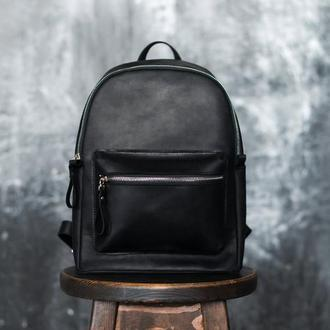 Городской рюкзак из кожи Crazy Horse. Рюкзак из кожи Крейзи Хорс на каждый день