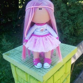 Інтер'єрна лялька полунична зефірка