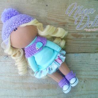 Інтер'єрна лялька М'ятна ніжність