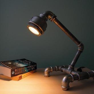Лампа из труб Roboscope