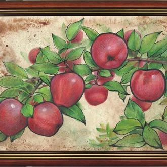 Яблочки наливные. 2021г. Автор - Мишарева Наталья