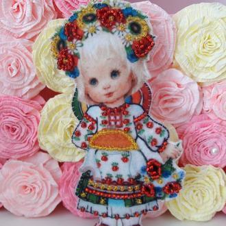 Кукла в национальном костюме, Украина