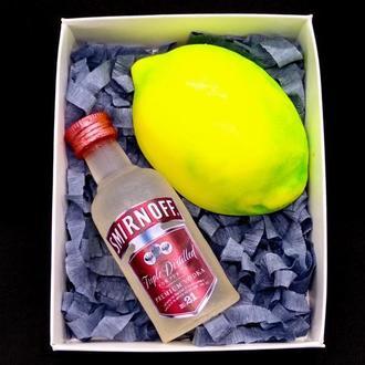"Сувенирное мыло ""Водка с лимоном"""