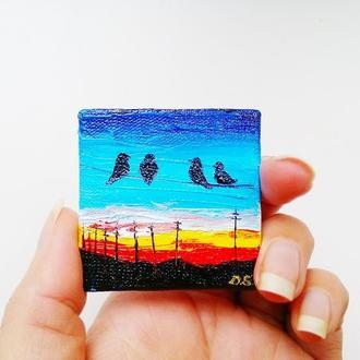 Закат (миниатюра)