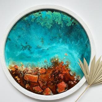 Картина «Озеро на марсе»