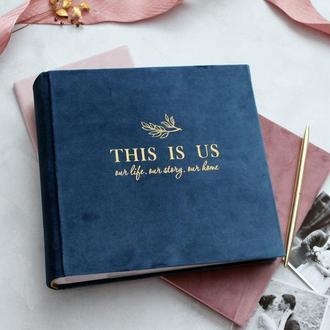 Альбом з файловим блоком, Сімейний альбом, Подарунок на весілля, Альбом с файлами