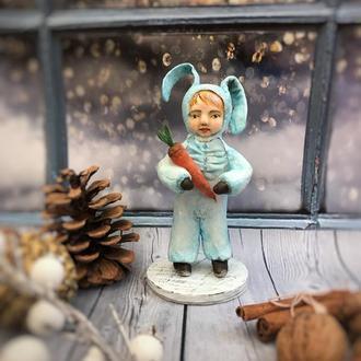 Сувенірна лялечка із вати