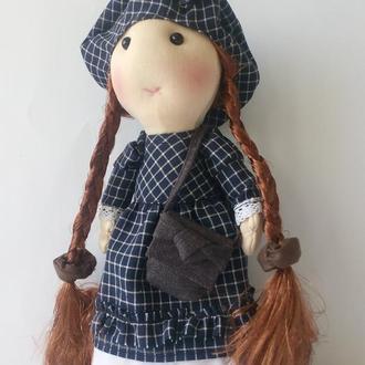 Текстильная интерьерная кукла  Софи.