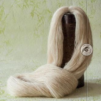 Пуховая пряжа из пуха ангорской козы