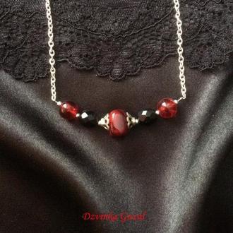 Этника серебро украшение серебряное ожерелье бирюза лава корал wirework new