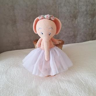 """Мягкая игрушка  """"Слониха балерина"""""""