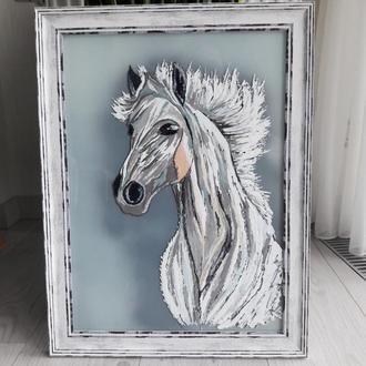 "Картина ""Белый конь"""