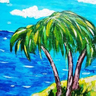Пейзаж Бали Акрил Подарите любимой Бали Мечты сбываются