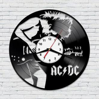 Настенные часы из винила AC/DC