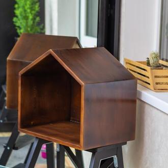 Крафт домик для кошек или маленьких собак