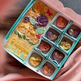 Подарочный шоколадный набор на 8 марта