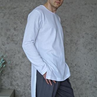 Мужская рубашка-туника из натурального льна Men's Linen shirt
