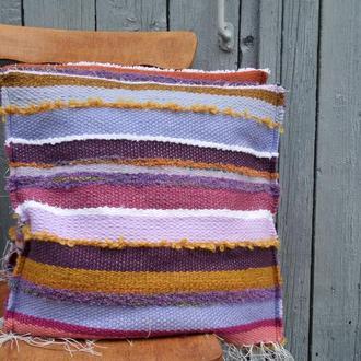Набор домотканых подушек Теплый дом (3) ручное ткачество
