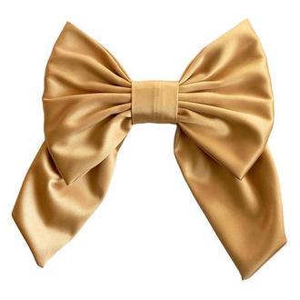 Большой золотой  Luxury бант - украшение для волос от MyScarf