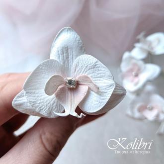 Шпильки для волос орхидеи