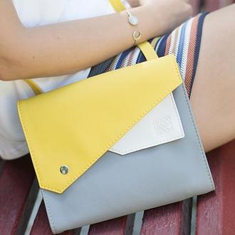 """Желтая сумка через плечо """"Frida"""""""