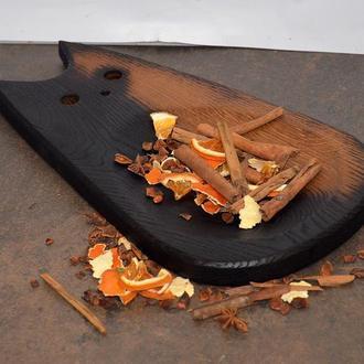 Доска для подачи. тарелка из дерева, тарелка для фруктов, тарелка для снеков, подарок женщине