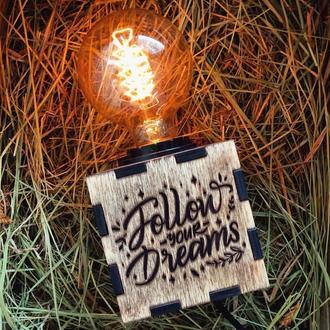 Лампа Follow you Dreams
