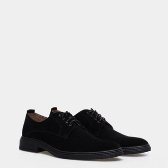 Мужские туфли Дерби (замшевые)