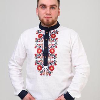 Чоловіча вишита сорочка (511)