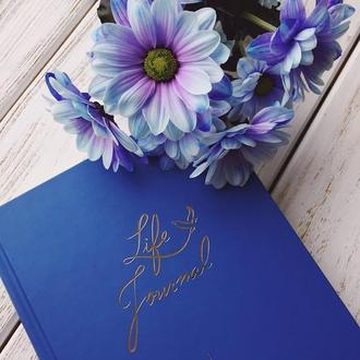 "Дневник ""Life Journal"" синий"