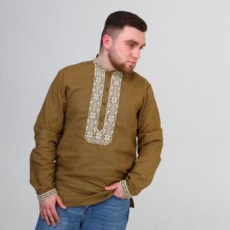 Чоловіча вишита сорочка (506)