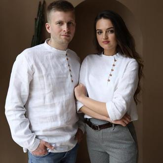 Парні лляні сорочки