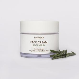 Увлажняющий крем для лица для жирной и комбинированной кожи ProGreen