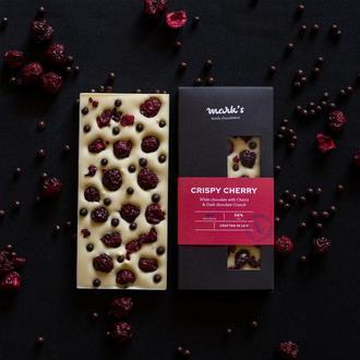 "Бельгийский Премиум Шоколад  Mark's ""Crispy Cherry"""