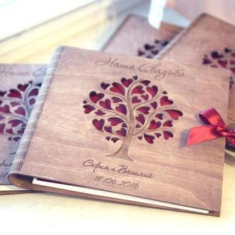 Весільний альбом з дерева! (ЕКСКЛЮЗИВ!)