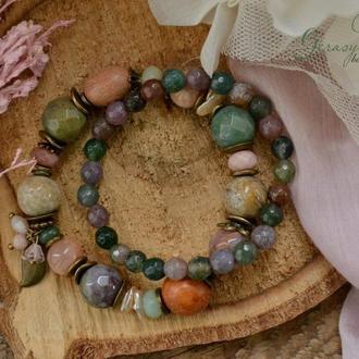 Комплект браслетів 'Сонний березень'