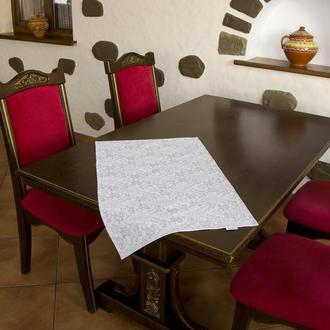 Полотенце для кухни - 100 % хлопок рогожка, размер 44*71 рисунок - роспись 2.