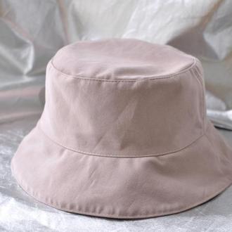 Панама женская Джинс розовый Пудровый