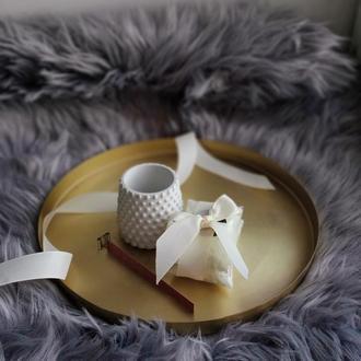 Набор для изготовления соевой свечи кашпо bubble cup
