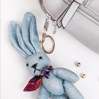 брелок для ключей ,  зайчик , подвеска на сумку , заяц