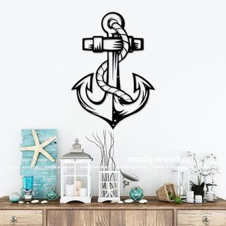 "Дерев'яна картина-панно ""Anchor"""