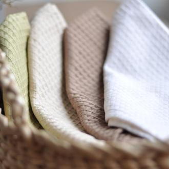 Подарочный набор кухонных полотенецвафельные полотенца однотонные полотенца текстиль для дома