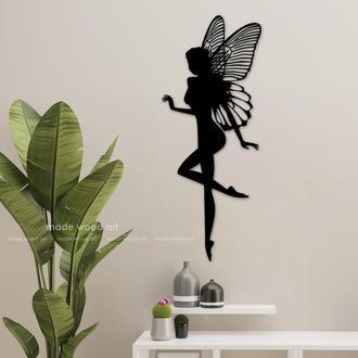 "Деревянная картина - панно ""Butterfly"""