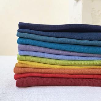 Льняная салфетка для сервировки Текстильные салфетки на стол Тканевые кухонные салфетки
