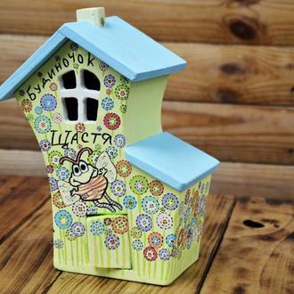 "Шкатулка ""Солодкий сад"" цукерниця подарунок для мами"