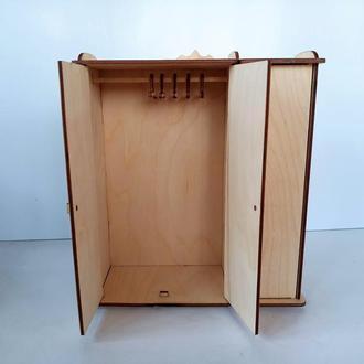 Шкаф для кукол. Мебель для кукол Барби