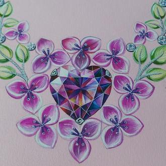 """""""Flowering heart"""""""